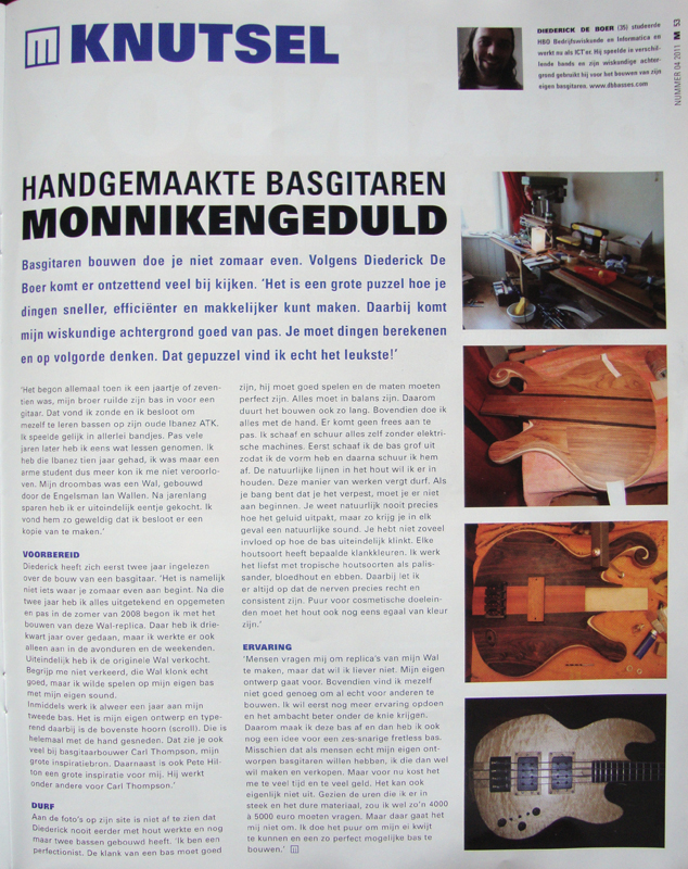 Musicmaker article